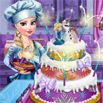 Free online flash games - Elsas Wedding Cake game - WowEscape