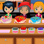 Free online flash games - Holiday Cake Shop game - WowEscape