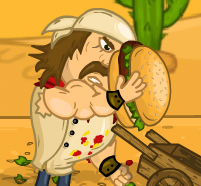 Free online flash games - Mad Burger 3 Wild West game - WowEscape