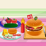 Free online flash games - Make a Veggie Burger game - WowEscape