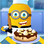Free online flash games - Minion cooking Banana Cake game - WowEscape