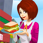 Free online flash games - Norahs Sandwich Cafe  game - WowEscape