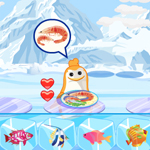 Free online flash games - Penguin Food Club game - Games2Rule