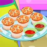 Free online flash games - Pizza Cupcakes game - WowEscape