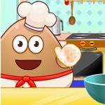 Free online flash games - Pou cooking Raffaelo game - WowEscape