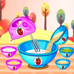 Free online flash games - Raspberry Chocolate Cakes game - WowEscape