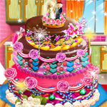 Free online flash games - Realistic Wedding Cake game - WowEscape
