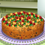 Free online flash games - Saras Cooking Class Fruit Cake game - WowEscape