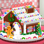Free online flash games - Saras Cooking Class Gingerbread House game - WowEscape