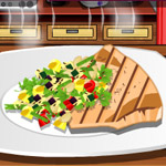 Free online flash games - Swordfish With Vegetables game - WowEscape