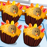 Free online flash games - Thanksgiving Cupcakes game - WowEscape