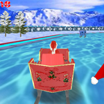 Free online flash games - 3D Santa Racing game - WowEscape