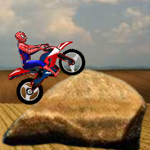 Free online flash games - Amazing Spider-man Moto game - WowEscape