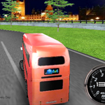 Free online flash games - English Bus Racing game - WowEscape