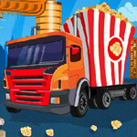 Free online flash games - Food Battle Truck game - WowEscape
