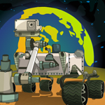Free online flash games - Mars Adventures Curiosity Parking game - WowEscape