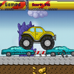 Free online flash games - Monster Truck Race game - WowEscape