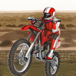 Free online flash games - Sahara Biker game - WowEscape