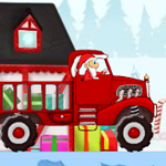 Free online flash games - Santa Delivery Truck game - WowEscape