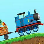Free online flash games - Thomas Transport Fruits game - WowEscape