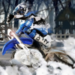Free online flash games - Winter Bike Challenge game - WowEscape