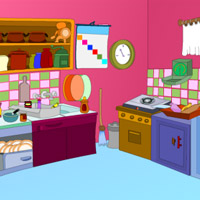 Free online flash games - Chicks Kitchen Escape game - WowEscape