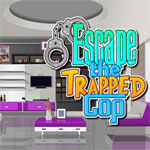 Free online flash games - Escape the Trapped Cop game - WowEscape