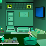 Free online flash games - Green Bed Room Escape game - WowEscape