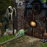 Free online flash games - Halloween Scary Palace Escape game - WowEscape