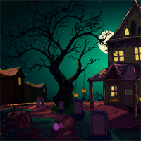 Free online flash games - Halloween Search For History game - WowEscape