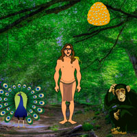 Free online flash games - Jungle Tarzan Escape game - WowEscape