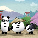 Free online flash games - Play 3 Pandas in Japan game - WowEscape