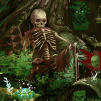 Free online flash games - Skully Forest Escape game - WowEscape