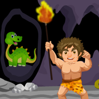 Free online flash games - Stone Age Man Escape game - Games2Rule