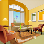 Free online flash games - Trendy Yellow Home Escape game - WowEscape