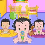 Free online flash games - Naughty Baby game - WowEscape