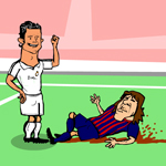 Free online flash games - Ronaldo The Crying game - WowEscape