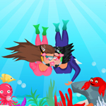 Free online flash games - Scuba Lovers game - WowEscape