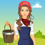 Free online flash games - Farm Girl Dress Up game - WowEscape