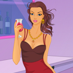 Free online flash games - Night Party Dress Up game - WowEscape