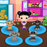 Free online flash games - Lovely Pets Care game - WowEscape