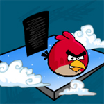 Free online flash games - Angry Birds Hearts game - WowEscape