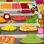 Free online flash games - Fruit Shop Checks game - WowEscape