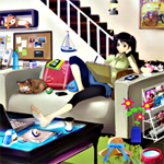 Free online flash games - Hidden Objects-Girls Hostel game - Games2Rule