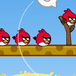 Free online flash games - Angry Birds Valentines Day game - WowEscape