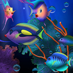 Free online flash games - Fish Fantasy-Spot the Difference game - WowEscape