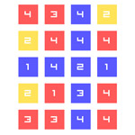 Free online flash games - Match A Number game - WowEscape