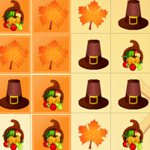 Free online flash games - Thanksgiving Matching game - WowEscape
