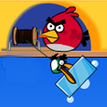 Free online flash games - Angry Birds Double Fishing game - WowEscape