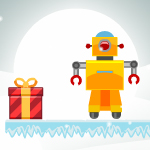 Free online flash games - Bounzy Christmas Edition game - WowEscape
